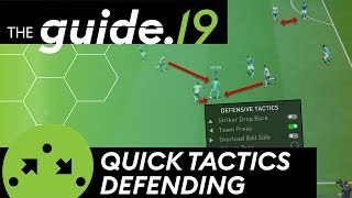 NEW DEFENSIVE QUICK TACTICS IN FIFA 19 | Put Pressure on your Opponent (Team-Pressing)