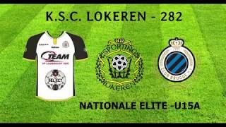 Nat.Elite U15A - Sporting Lokeren - KV Club Brugge