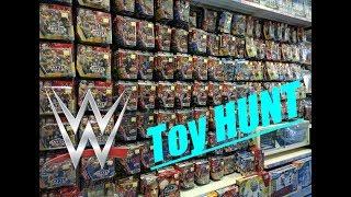 HUGE WWE TOY HUNT!!!!!