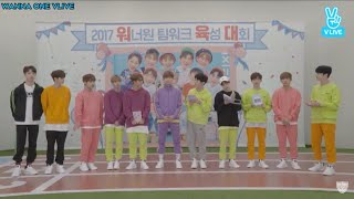 [SUBS] 170810 WANNA ONE's Teamwork Building Championship