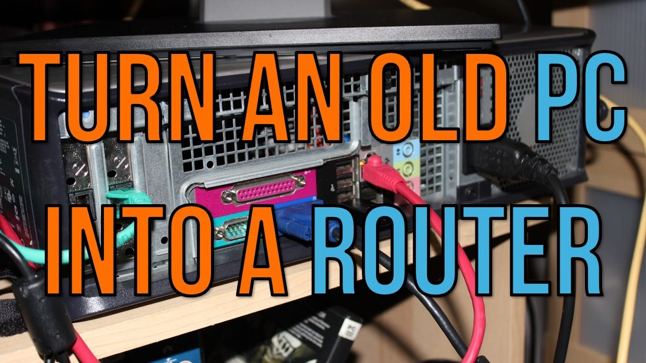 turn an old pc into a router youtube. Black Bedroom Furniture Sets. Home Design Ideas