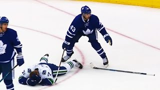 Gotta See It: Reilly, Kadri clobber two Canucks on same play