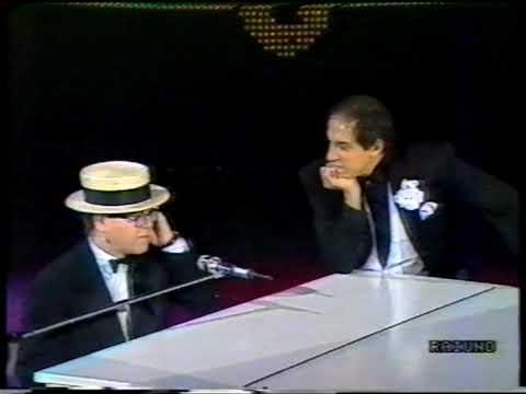"Elton John  ""Fantastico 1988"" - Interview"