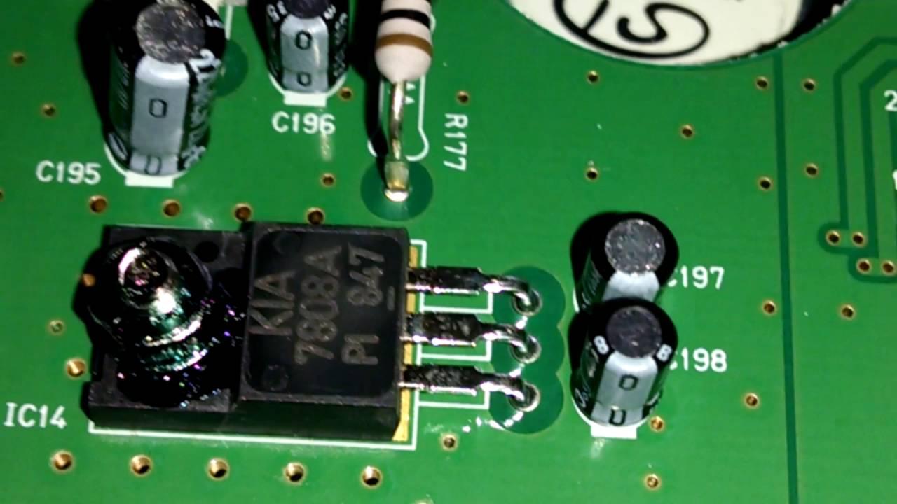 Inside my RadioShack pro 163 scanner