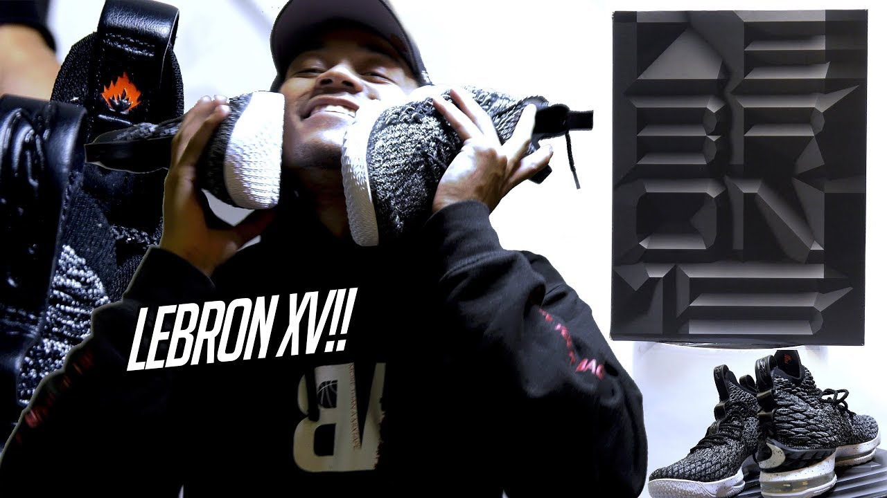 lebron ashes 15. unboxing the new lebron 15 ashes! lebron\u0027s best shoe in a while! on feet + shoe details close up! lebron ashes