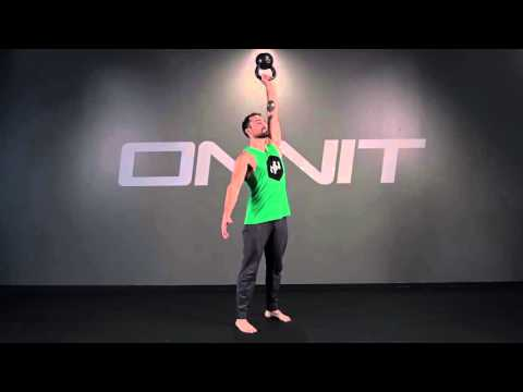 Kettlebell Bottom's Up Press