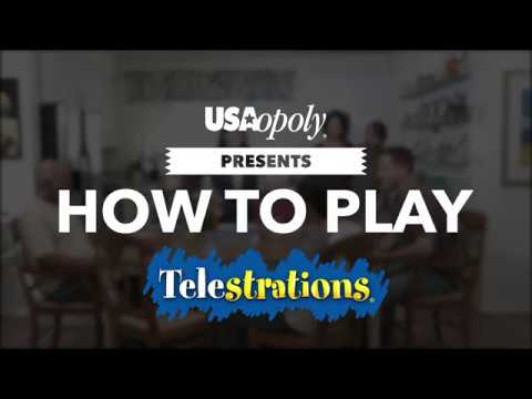 drawing game telestrations How To Play Telestrations