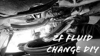DIY:  C7 Audi ZF 8-Speed Trans…