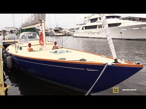 2017 Morris M36 Sailing Yacht – Deck Walkaround – 2016 Annapolis Sailboat Show