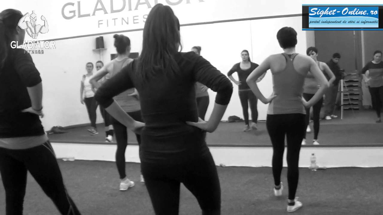 Gladiator Fitness - Antrenament Fat Burn cu Sabine Cosovan - YouTube