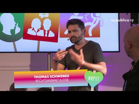 re:publica 2017 - Recht oder Liebe? Wie man bei jeder Auseinandersetzung im Web garantiert gewinnt. on YouTube