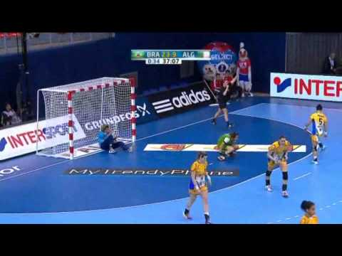 Brazil v Algeria Group B Women's World Handball 2013