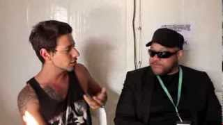 AMH TV - Interview with Howard Jones from Devil You Know at Soundwave Festival 2014