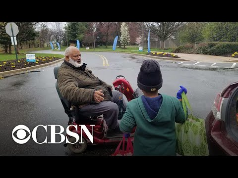 7-year-old boy spends life savings to make care packages for the elderly