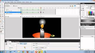 How to make Candle with Macromedia Flash in 15 minutes