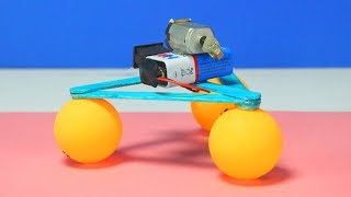 How To Make Amazing Robot Toy Using Ping Pong Ball - DIY