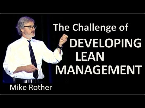 The Challenge of Developing Lean Management