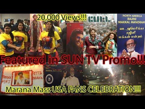 Petta USA FDFS Fans Celebration | North America Rajini Makkal Mandram | Super star Rajini