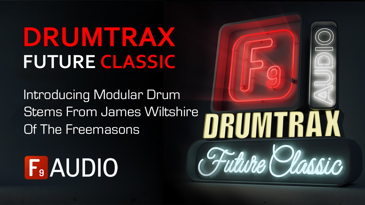 F9 Audio Drumtrax Future Classic Drum Stems - OUT NOW #1