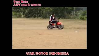 Razor ATV 100 & 150 cc Viar Motor Indonesia (TEST RIDE)