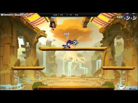 GCEU003 - VexX | LDZ (Diana) Vs. Pom (Queen Nai) - Winners Quarters - Brawlhalla