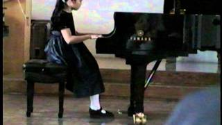 Cissy (9) Plays Bach Invention No. 13  BWV 784