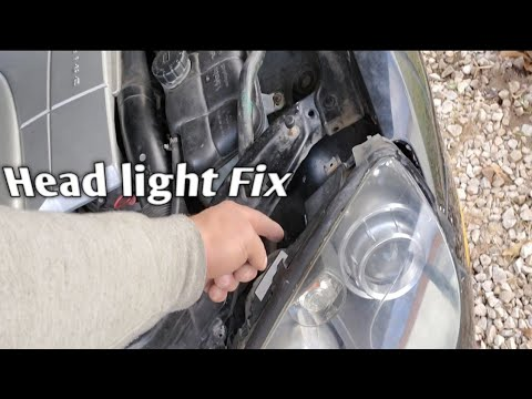 Chrysler Crossfire Headlights Fix