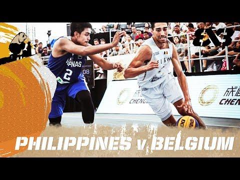 Belgium vs. Philippines - Full Game - FIBA 3x3 U18 World Cup