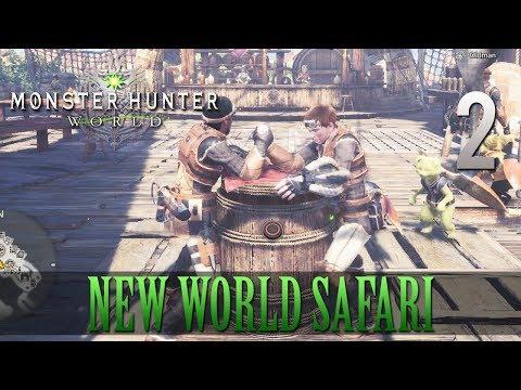 [2] New World Safari (Let's Play Monster Hunter: World [PS4 Pro] w/ GaLm ft Tom)