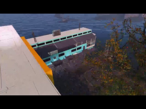 Fallout 4 large barge mall settlement