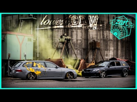 lowest crew BMW E61 static & bagged | stance | airride | CAR PORN