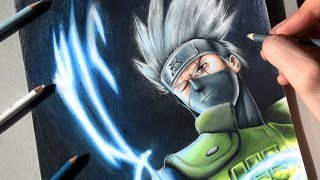 Cómo Dibujar A Kakashi Hatake (Chidori) | How To Draw Kakashi | Naruto | Draw Up!