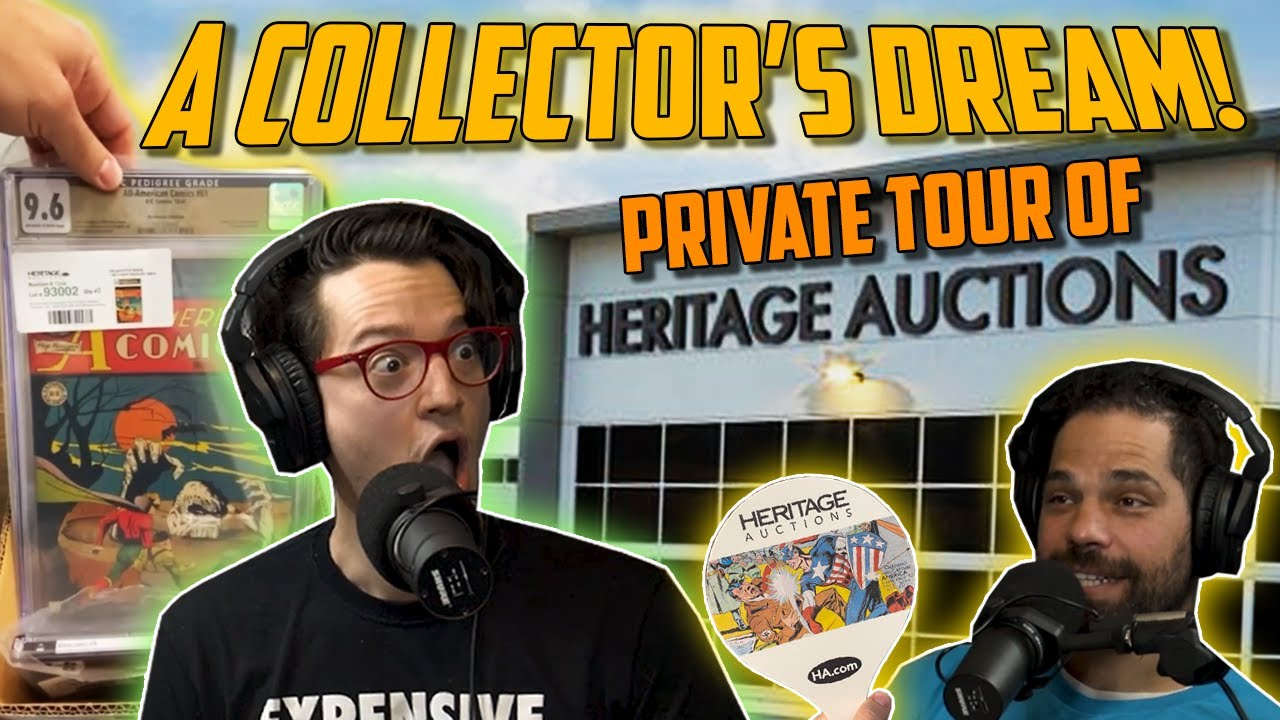 """""""The Collectibles Went on For Miles..."""" // Private Tour of Heritage Auctions ft.GoldenAgeGuru"""
