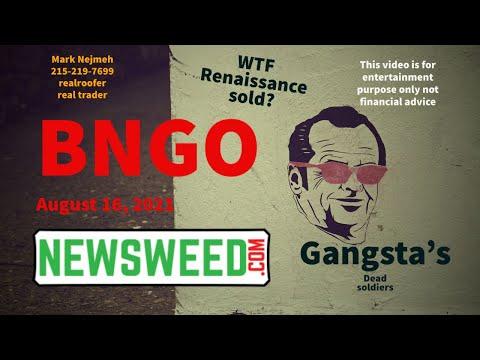 BNGO $BNGO #BNGO #BionanoGenomics #Renaissance Capital #Crypto #MarkNejmeh #911