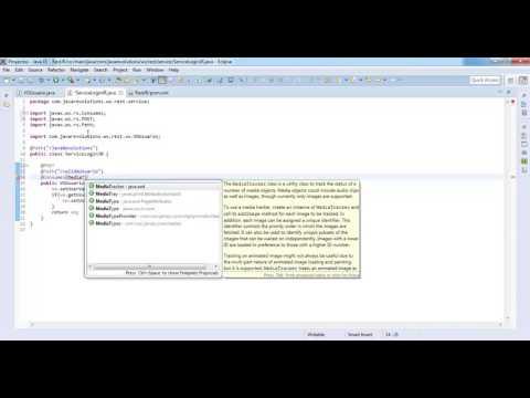 REST JSON Web Services Java Eclipse con Maven.