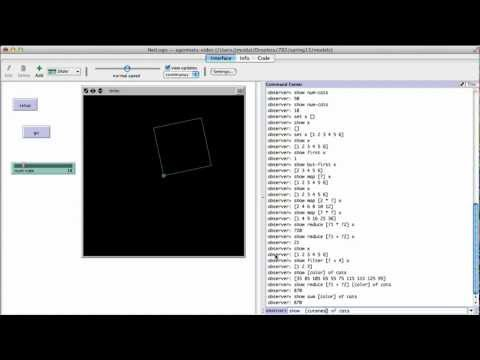NetLogo Introduction: Turtles Patches Agentsets and Lists