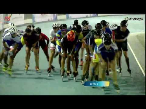 15000m Elimination Men - 2016 World Roller Speed Skating Championships