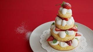 HMで作るふわふわクリスマスツリーケーキ | Christmas tree cake ここ数...