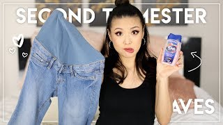 PREGNANCY 2nd Trimester MUST HAVES!! | Jen Chae