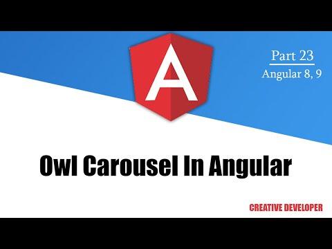 Owl carousel in Angular || Angular Owl Carouse