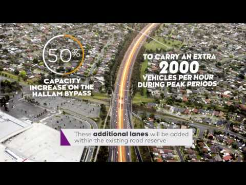 Monash Widening To Make Journeys Faster And Safer