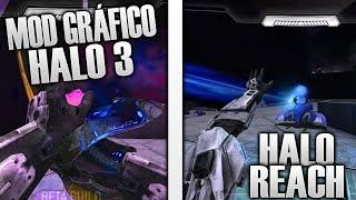 INCREÍBLE MOD DE HALO: REACH/HALO 3 PARA HALO CE!!
