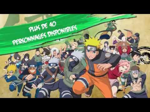 Download Naruto Shippuden Ultimate Ninja Heroes 3 - PSP - Français