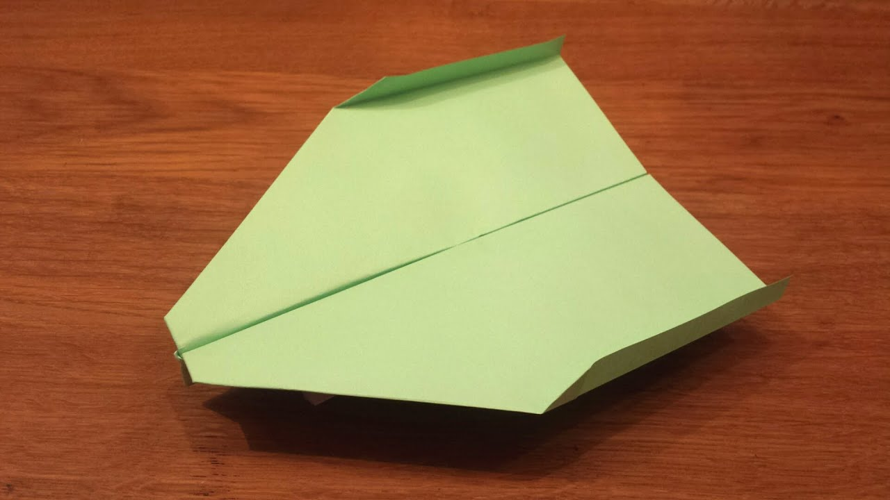 How To Make a Paper Airplane That Flies For a Long Time ... - photo#17
