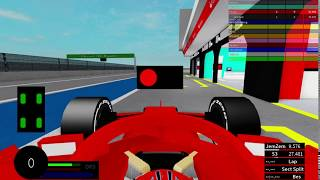 Roblox F1 2019 Pit Stop