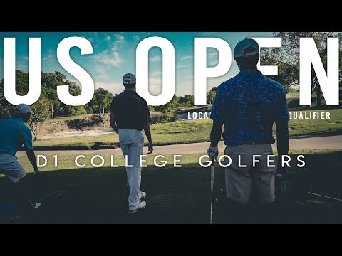 Playing With D1 College Golfers | US Open Qualifier Prep
