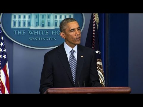 Obama urges peace, 'restraint' in Ferguson