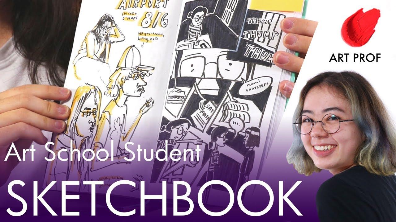 Artist Sketchbook Julie Sharpe ART PROF