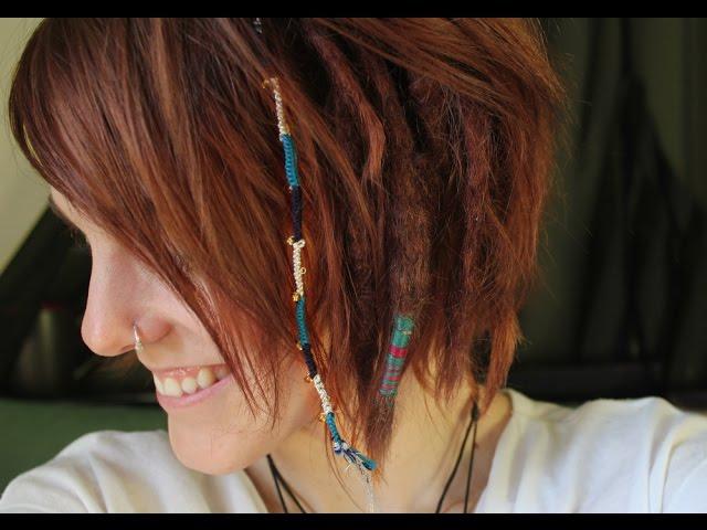 Temporary Hair Wrap Extension In Short Hair Youtube
