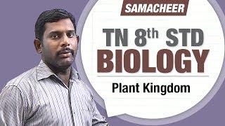 Plant Kingdom || TN 8th Std Biology || 8th Std Science
